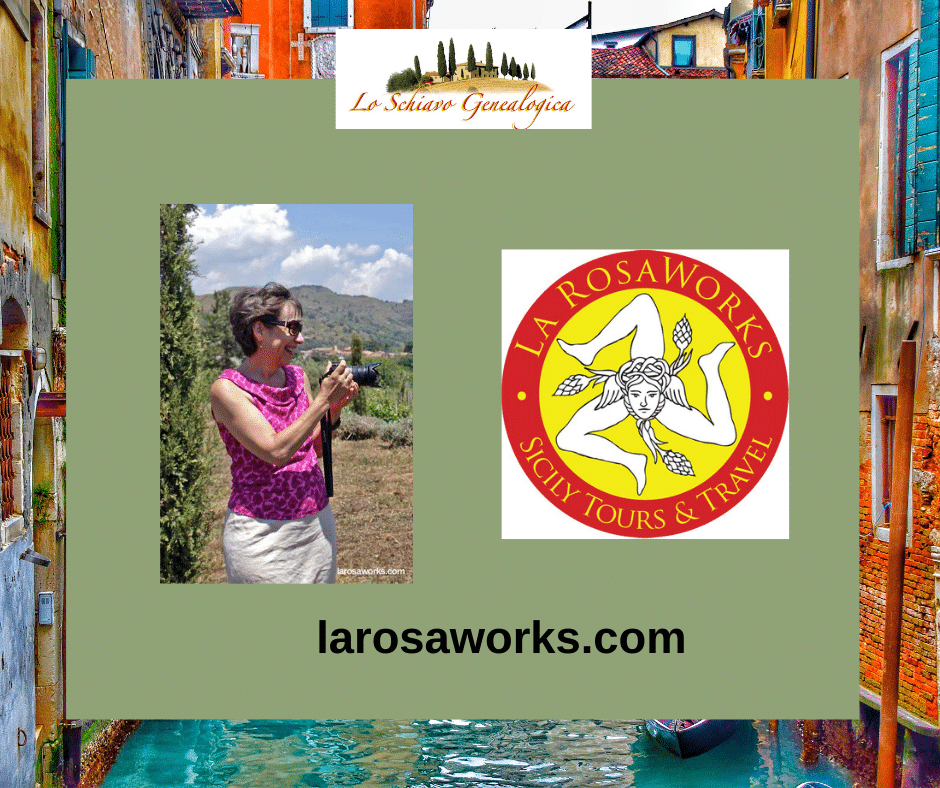 Karen La Rosa of La Rosaworks provides tours to Sicily